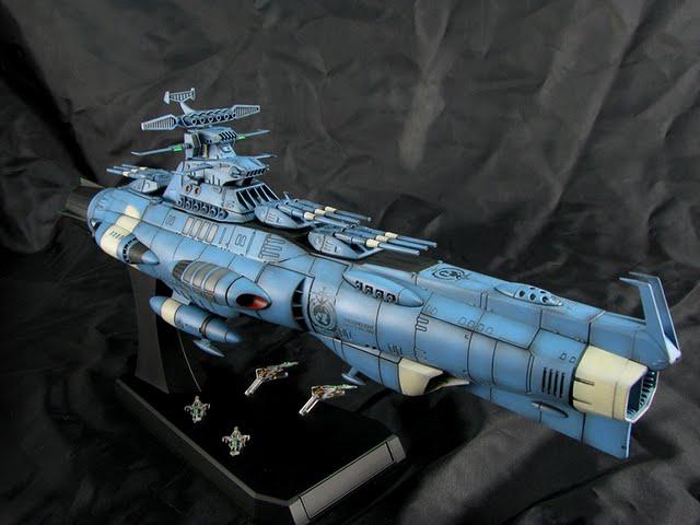 【世界的鋼普拉】宇宙戰艦大和號2202 1/1000 地球聯邦主力戰艦 Dreadnought