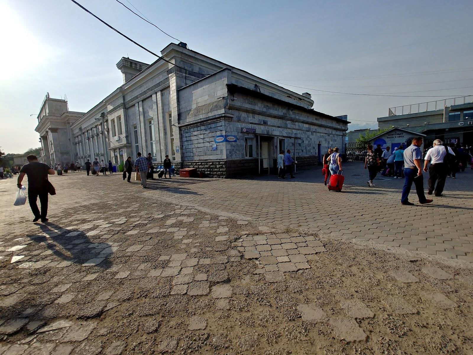 Dworzec Ałmaty 2 Kazachstan