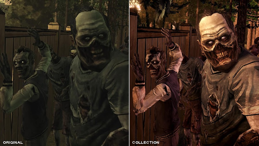 telltale walking dead zombies