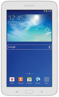 Cara atasi Samsung T110 Galaxy Tab 3 Lite 7.0 lupa pola & password