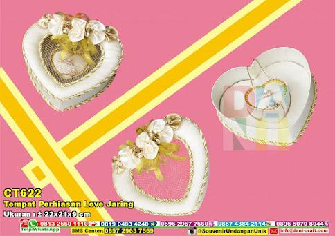 Tempat Perhiasan Love Jaring