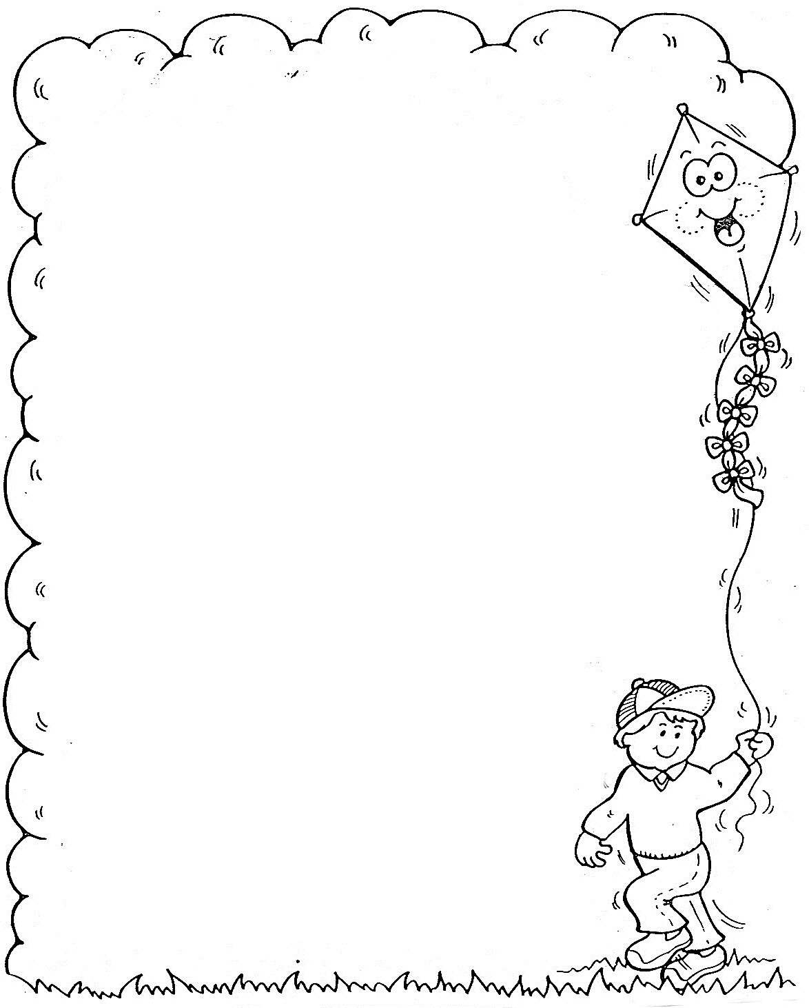 Marcos para colorear - Dibujos para Colorear y Pintar Gratis