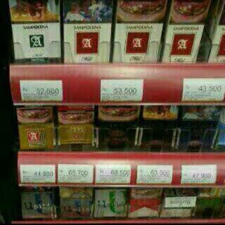 harga rokok naik 50 ribu / bungkus