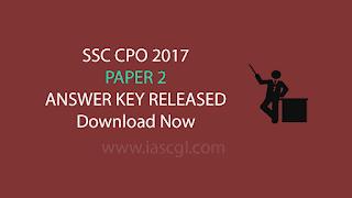 SSC CPO 2017