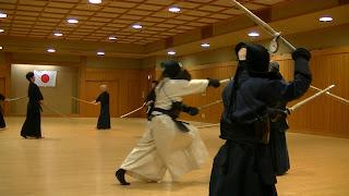武蔵会東京支部定例稽古会。日本橋浜町体育館。