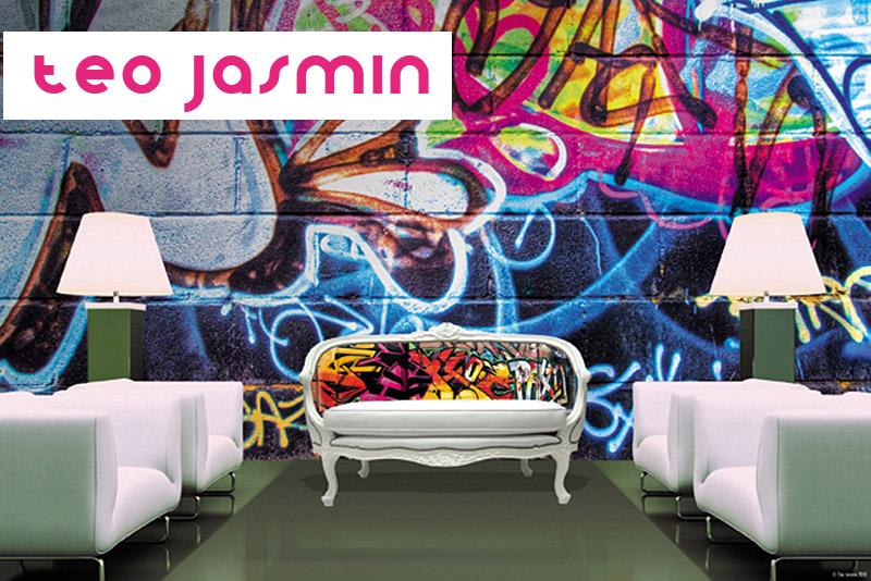 Teo Jasmin Digitally Printed Furnishings - if it's hip, it's here