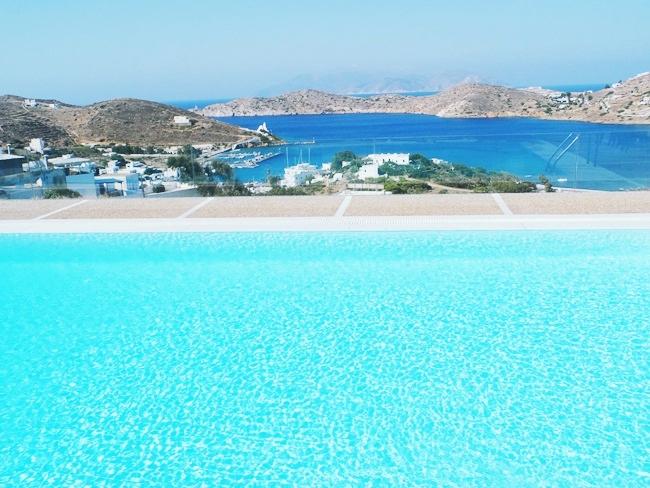 Liostasi hotel na Ios ostrvu privatan bazen