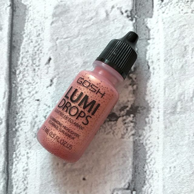 GOSH AW17 Lumi Drops Rose Gold