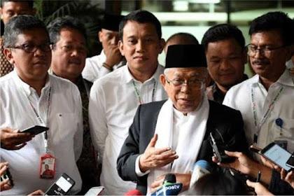 Jokowi Anti-Islam, Kiai Ma'ruf: Beliau Mencintai Ulama, Saya Tahu Betul