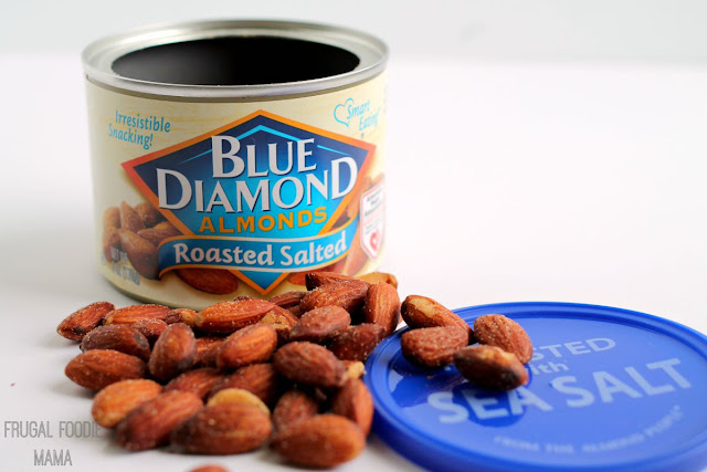 A can of tasty Blue Diamond Almonds is 1 of my 10 Essentials for Your Carry-On Bag. Click over to find out what the other 9 are.
