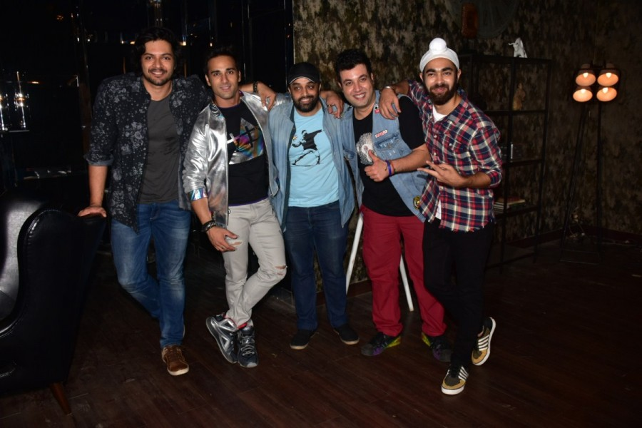 Team Fukrey Returns Shoot for a Promotional Song in Mumbai