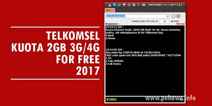 Cara Mendapatkan Kuota Gratis Telkomsel Work 2017