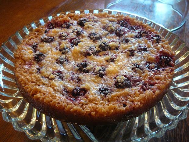 Hidden Pantry Easy Blackberry Cream Cheese Tart