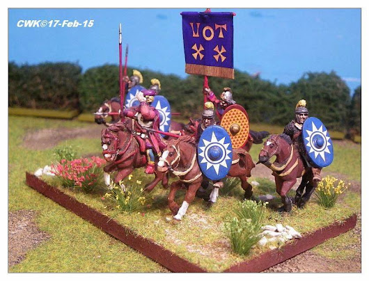 28mm Late Roman Equites for Impetus