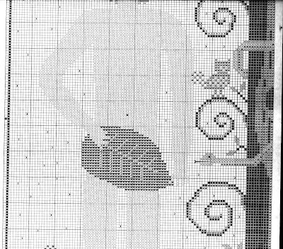 da Carriage House Samplings,adamo ed eva-schema primitivo a punto croce