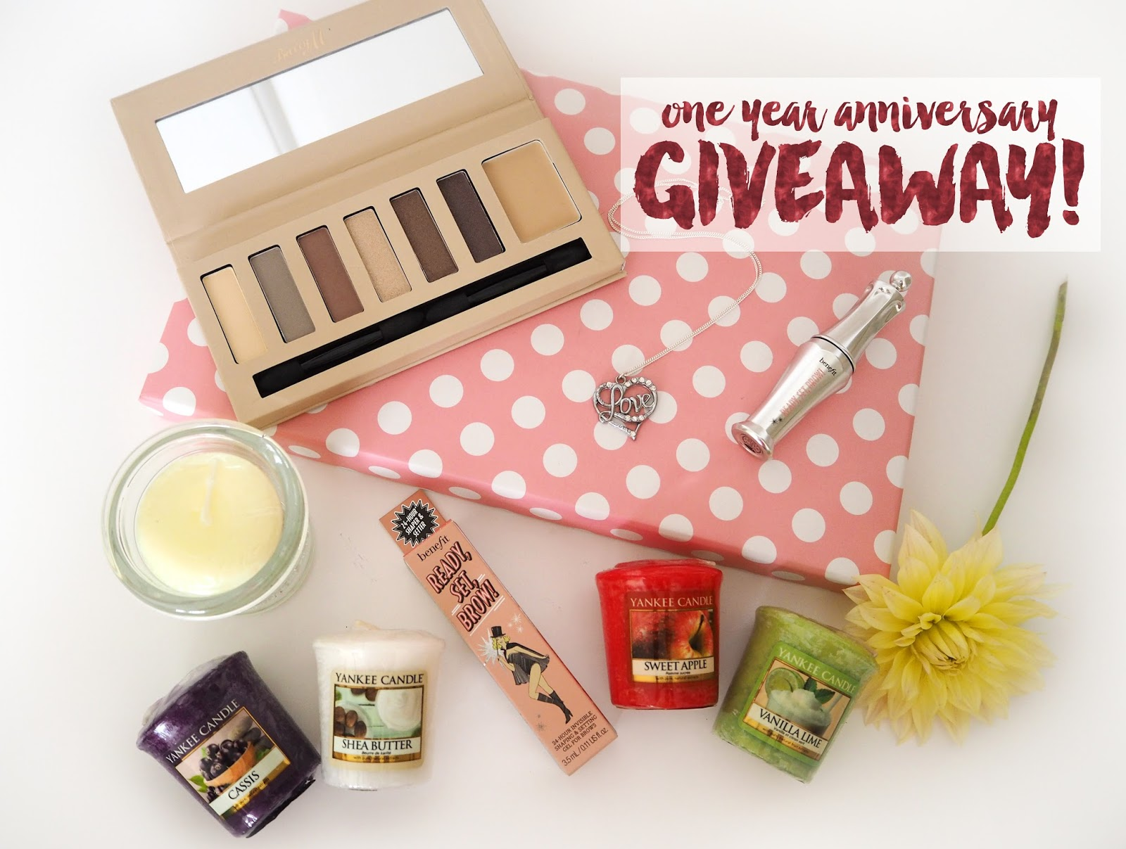 1 Year Anniversary Giveaway! | Katie Kirk Loves