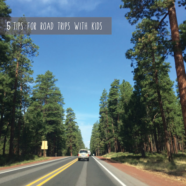 How to survive road trips with kids.