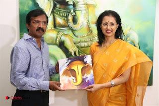 Actress Gautami visits Ganesh 365 Art Exhibition Pictures  0007.jpg