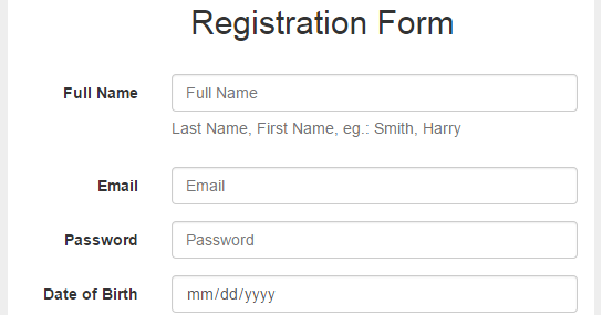 Bootstrap 3 Forms Tutorial