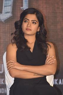 Actress Rashmika Mandanna Stills at Sarileru Neekevvaru Thanks Meet