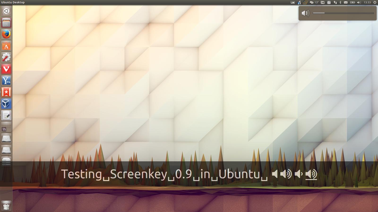 Tool To Display Keystrokes In Screencasts `Screenkey` 0 9