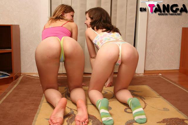 Foto de nenas en tanga