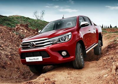 Toyota Hilux 2017 photos