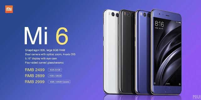 Especificações, Review e preço Xiaomi Mi6