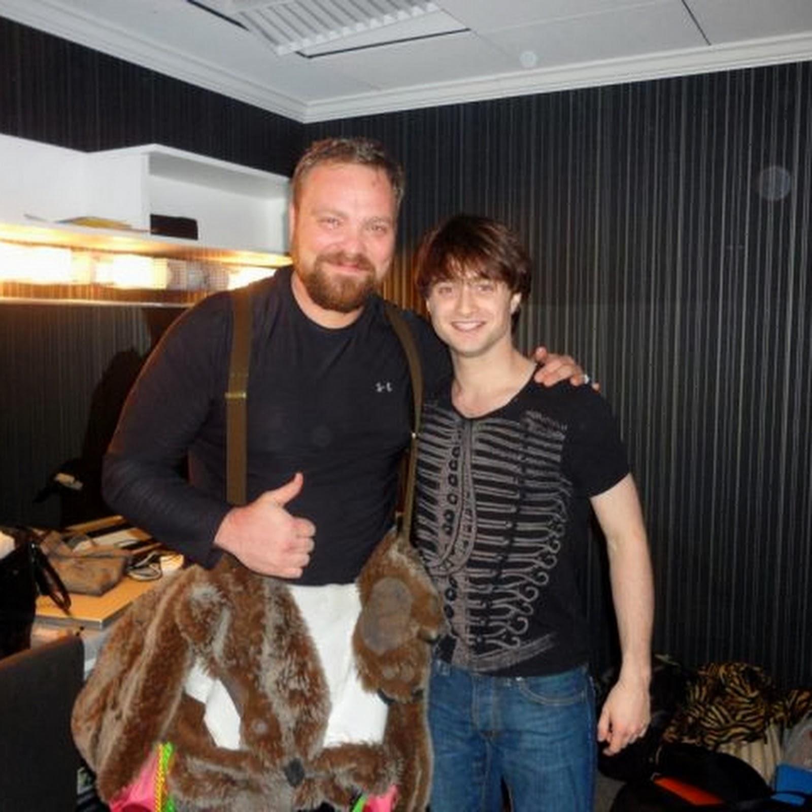 Updated: Daniel backstage at Pee-wee Herman Show