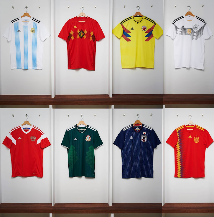 Adidas vs Nike vs Puma vs Other - Which Brand Made The Best 2018 World Cup  Kits  - Vote Now - Footy Headlines d5988c857