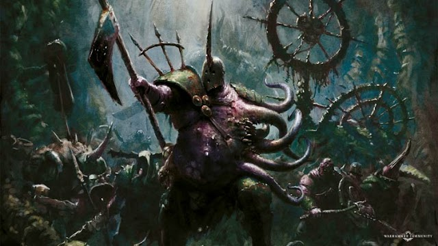 Fourth Day of Nurgle: The Lord of Blights with New Wallpaper