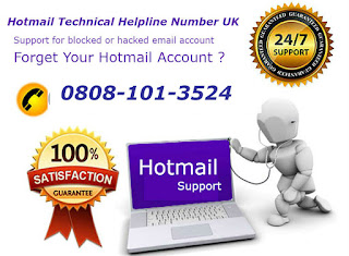 Hotmail help number UK
