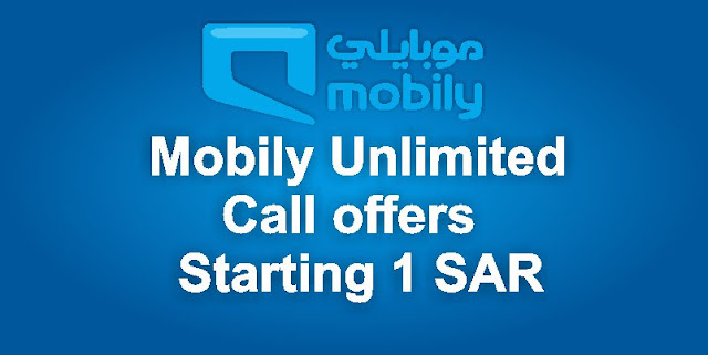 Unlimited calls starting 1 SAR Mobily