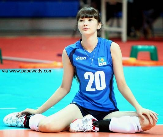 Sabina Altynbekova - The Beauty Queen of Kazakhstan Volleyball Team