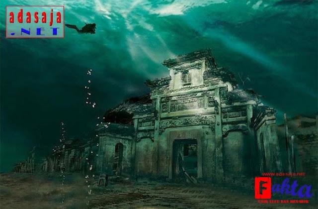 Lion City kota misterius yang menghilang dan ditemukan di bawah laut
