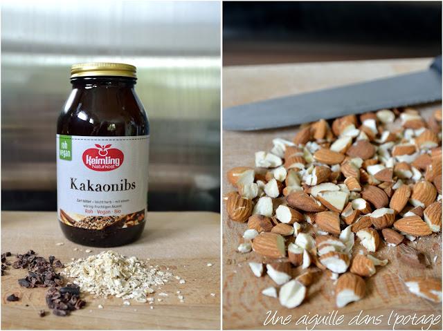 éclats de cacao Keimling