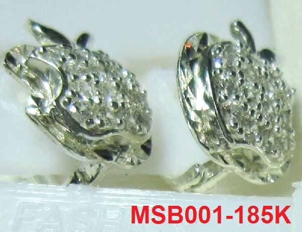 Bông tai hình táo khuyết MS-B001- Giá: 185,000 VNĐ - Liên hệ mua hàng: 0906 846366(Mr.Giang)
