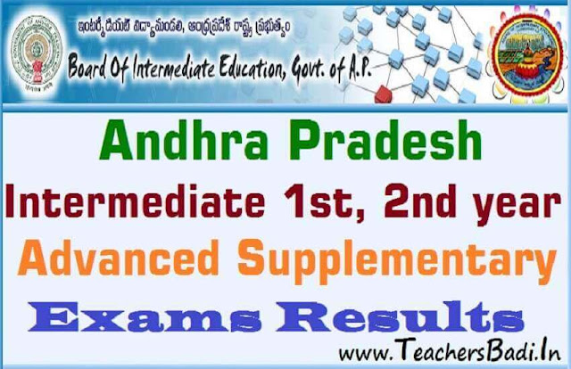 AP Inter Supplementary Exams 2019 Results,AP Inter 1st year results,ap inter 2nd year results