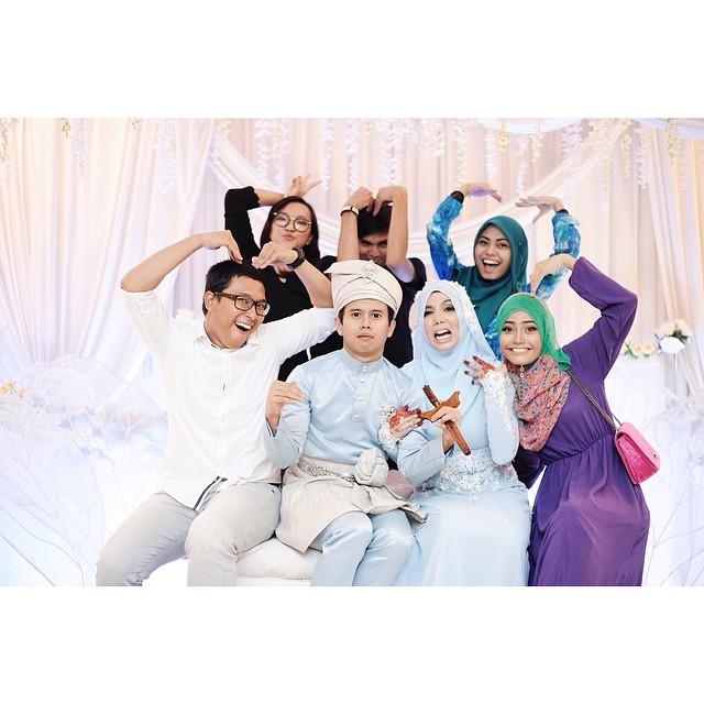Foto cun blogger Malaysia Majlis Kahwin Cik Epal