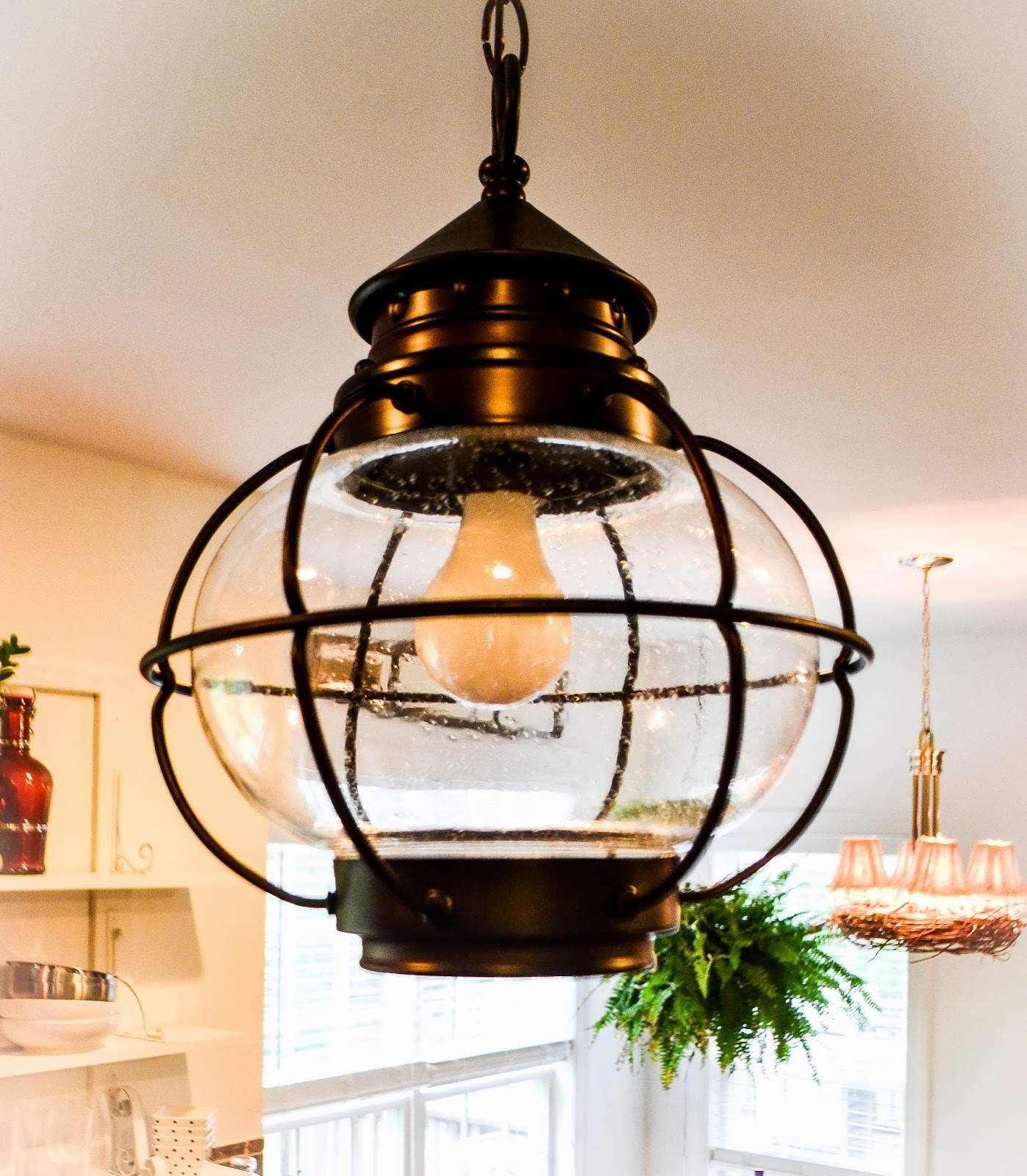Down To Earth Style Adding Charm With A Light Fixture Wiring Ceiling Without