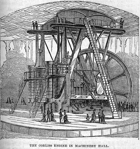 Centennial Corliss Engine Groups: The Corliss Steam Engine of 1876