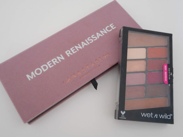 ABH Modern Renaissance vs Wet n Wild Color Icon Rose in the Air