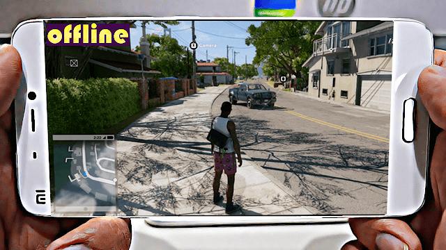 افضل 14 لعبة عالم مفتوح للأندرويد تشتغل بدون انترنت لسنة 2018 ستنسى GTA 5
