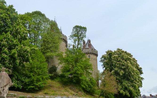 Castillo de Combourg.