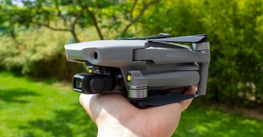 MAVIC AIR 2: Conoce el nuevo Dron de DJI 2020. El nuevo modelo puede grabar 4K y hasta 8K - www.dji.com