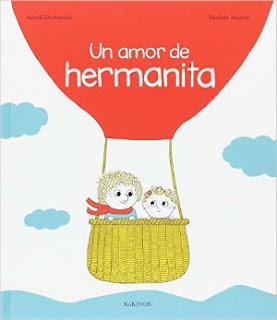 cuento infantil un amor de hermanita kokinos, hermanos, celos, educación emocional
