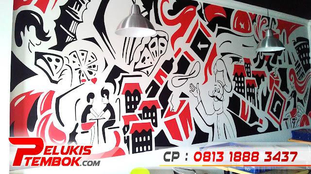 Lukisan Dinding Cafe, Lukisan Dinding Hitam Putih, Lukisan Dinding 3D, Lukisan Dinding Cafe Sederhana, Lukisan Dinding Cafe Keren, Lukisan Dinding Pemandangan, Lukisan Dinding Minimalis, Lukisan Dinding Cafe Hitam Putih