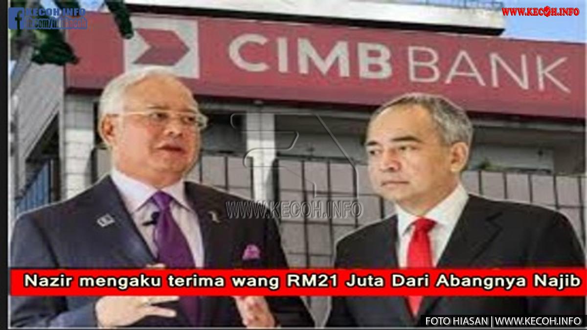 Pengerusi Kumpulan CIMB Datuk Seri Nazir Razak Adik Kandung Kepada Najib Pula Dedahkan Dia Dah Muak Dengan Pemimpin Dahulu