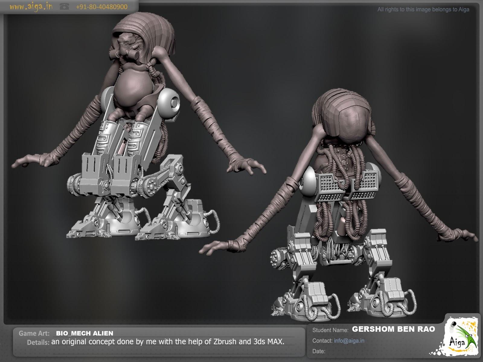 Gershom Ben Rao's Portfolio (Game Artist/Digital Sculptor