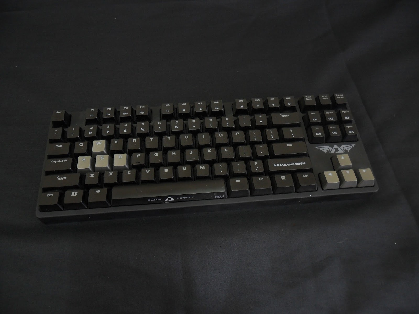 Unboxing & Review: Armaggeddon Black Hornet MKA-3 Mechanical Gaming Keyboard 5